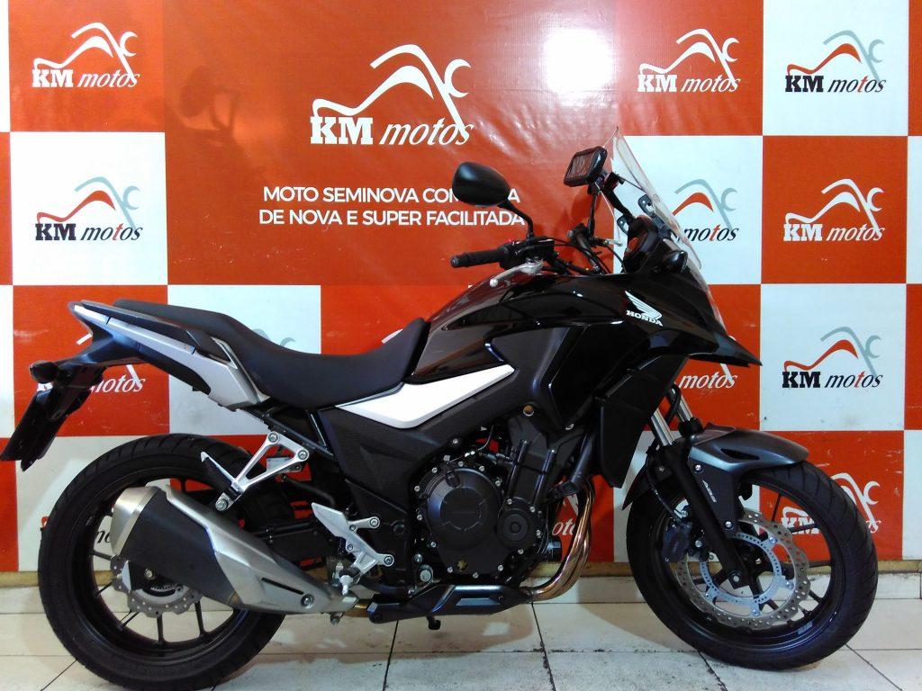 Honda CB 500 X 2019 Preta
