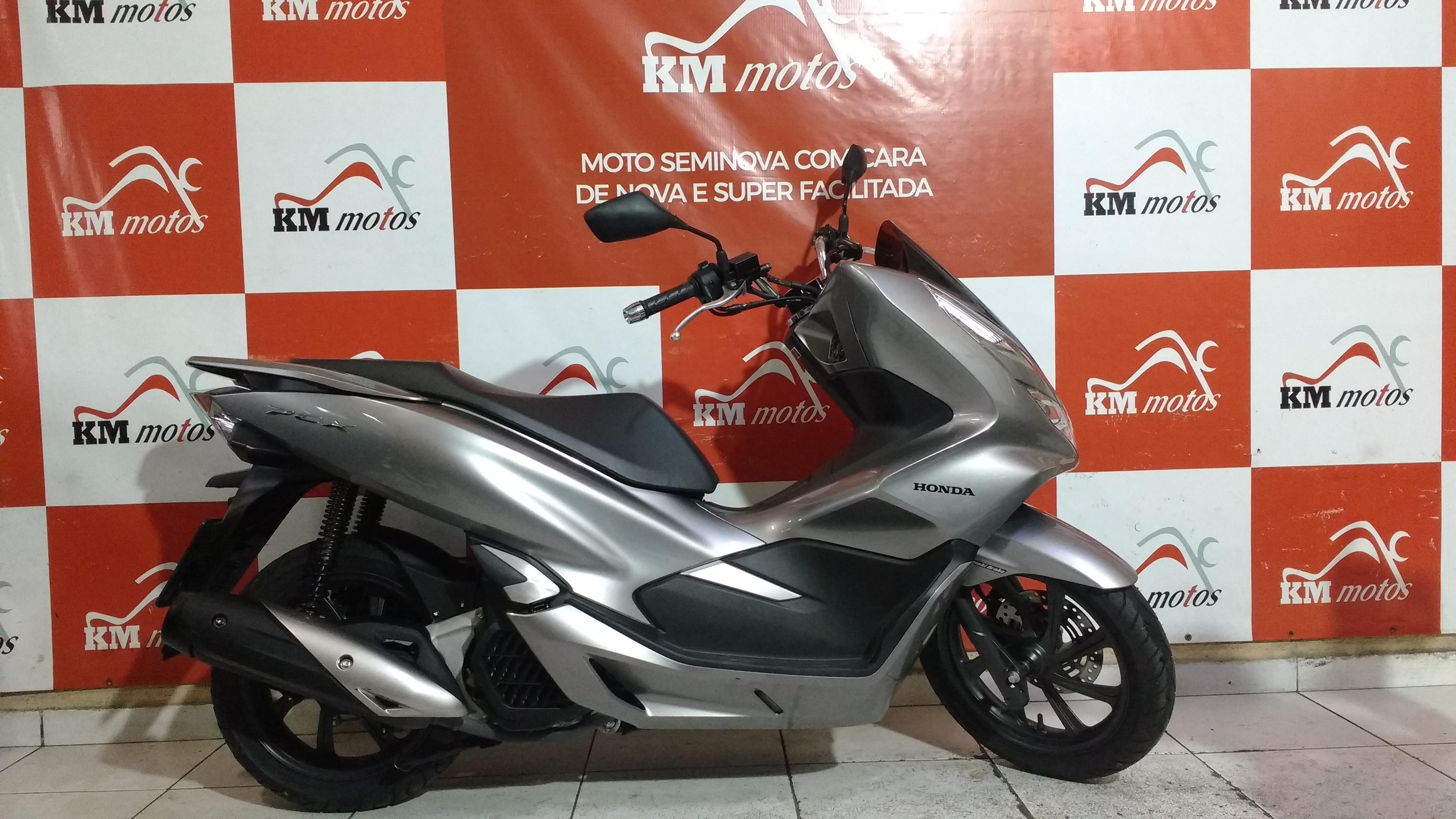 Honda Pcx 150 Cinza 2019