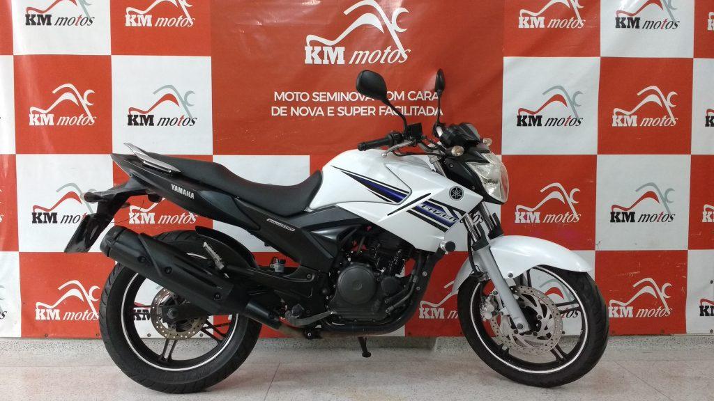 Yamaha Fazer ys 250 Branca 2014