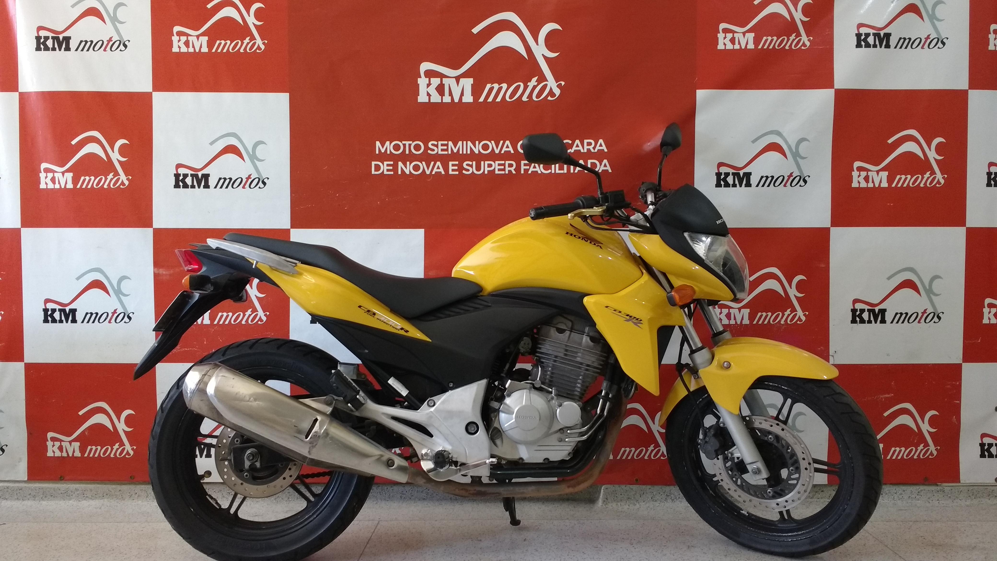 Honda Cb 300 R 2012 Amarela