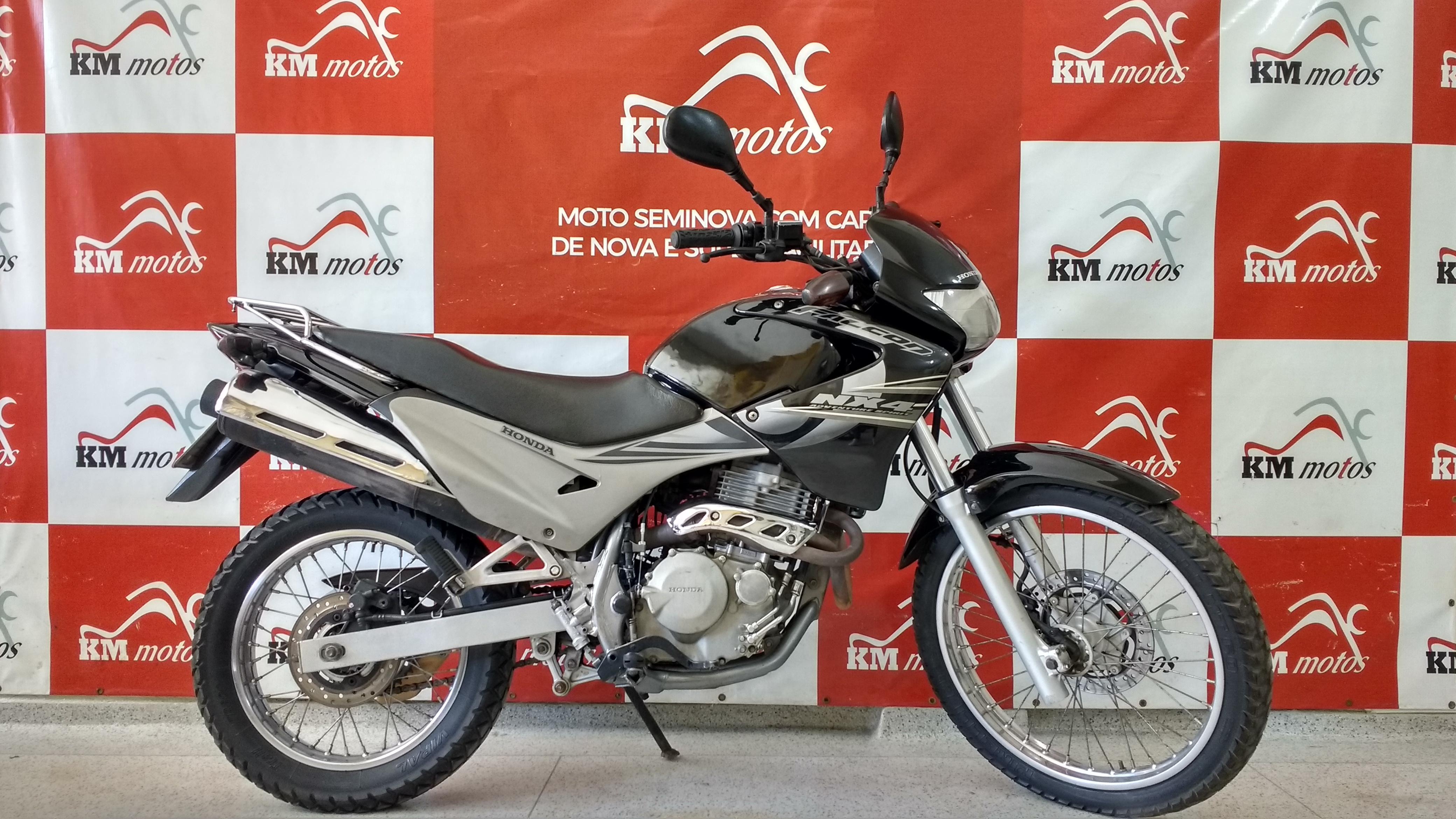 Honda Nx-4 Falcon 2006 Preta