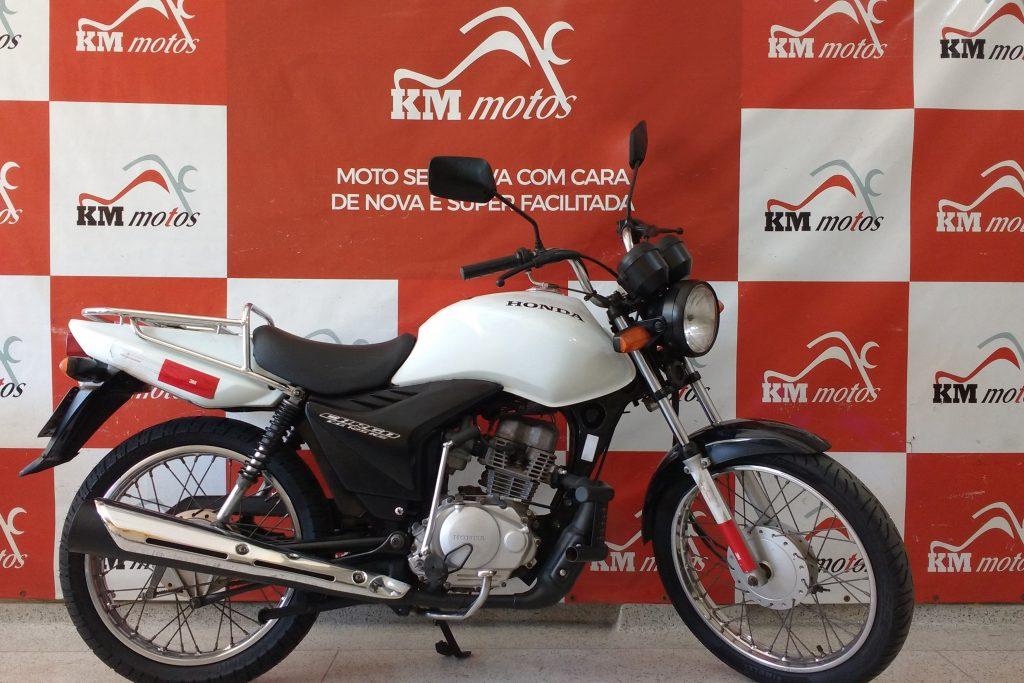 Honda CG 125 Cargo 2013 Branca