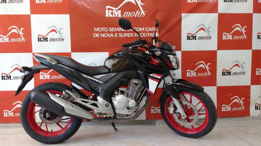 Honda CB 250 Twister Preta 2016