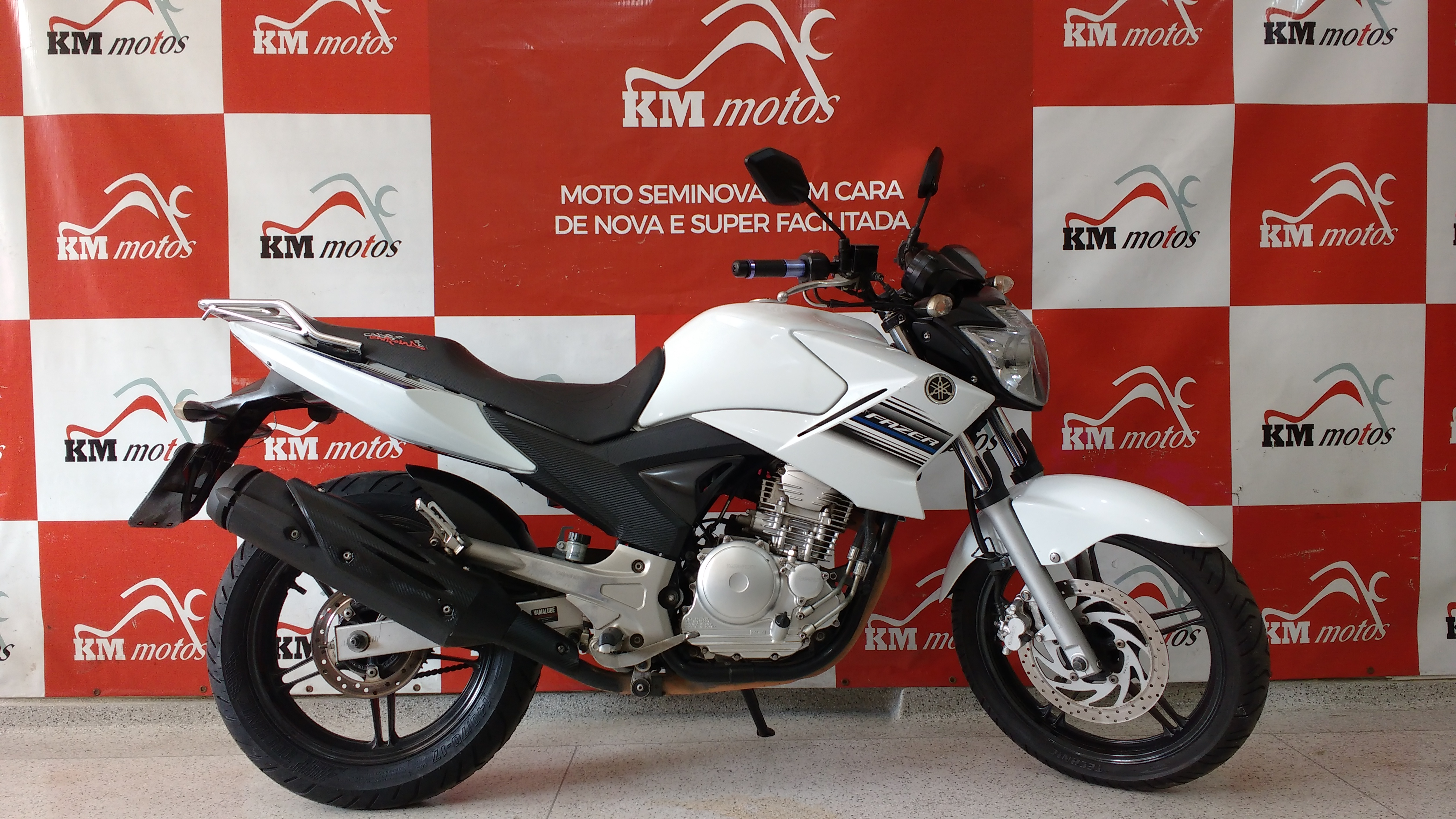 Yamaha Fazer ys 250 Branca 2015