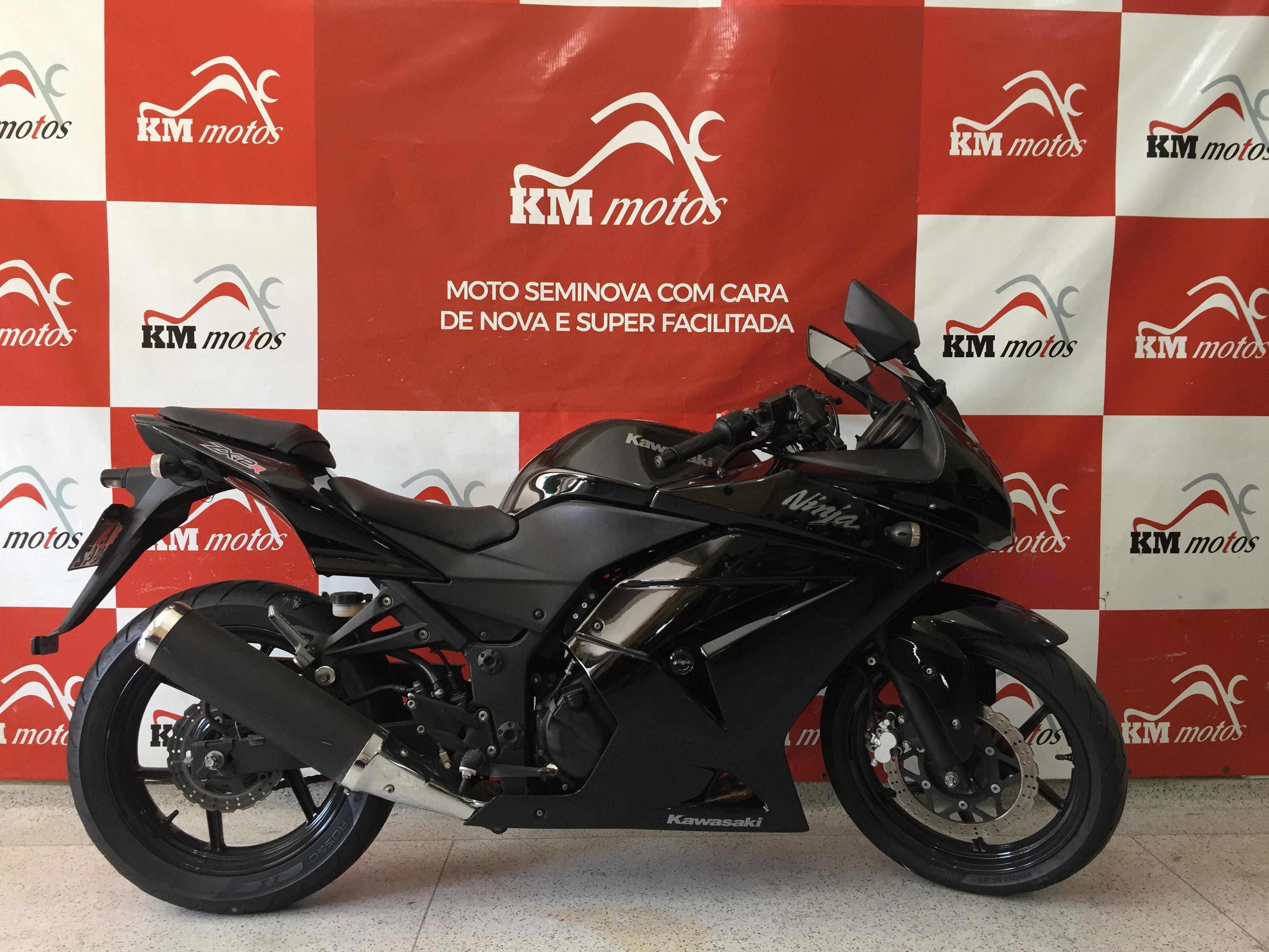 Kawasaki ninja 250 R Preta 2011