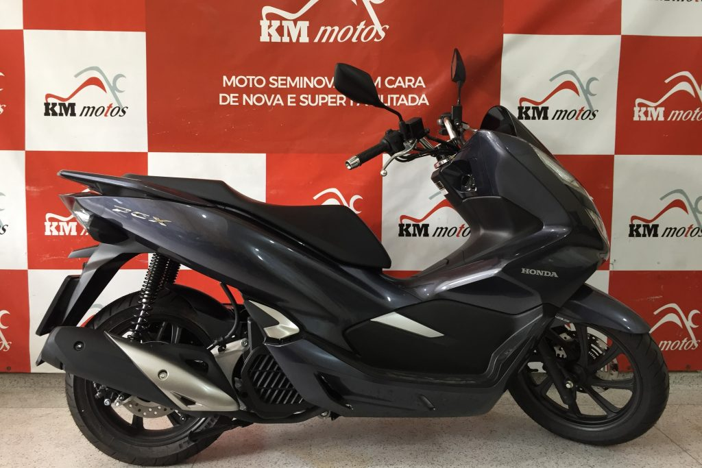 Honda PCX 150 ABS Cinza 2020