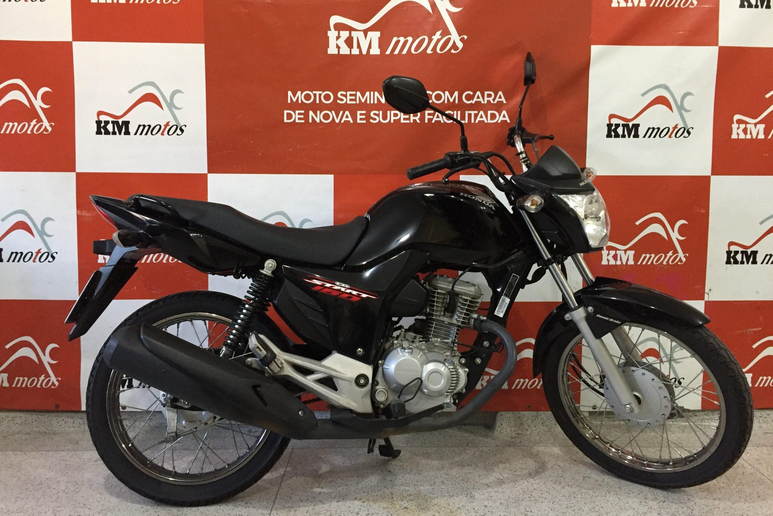 Honda Start 160 Preta 2018