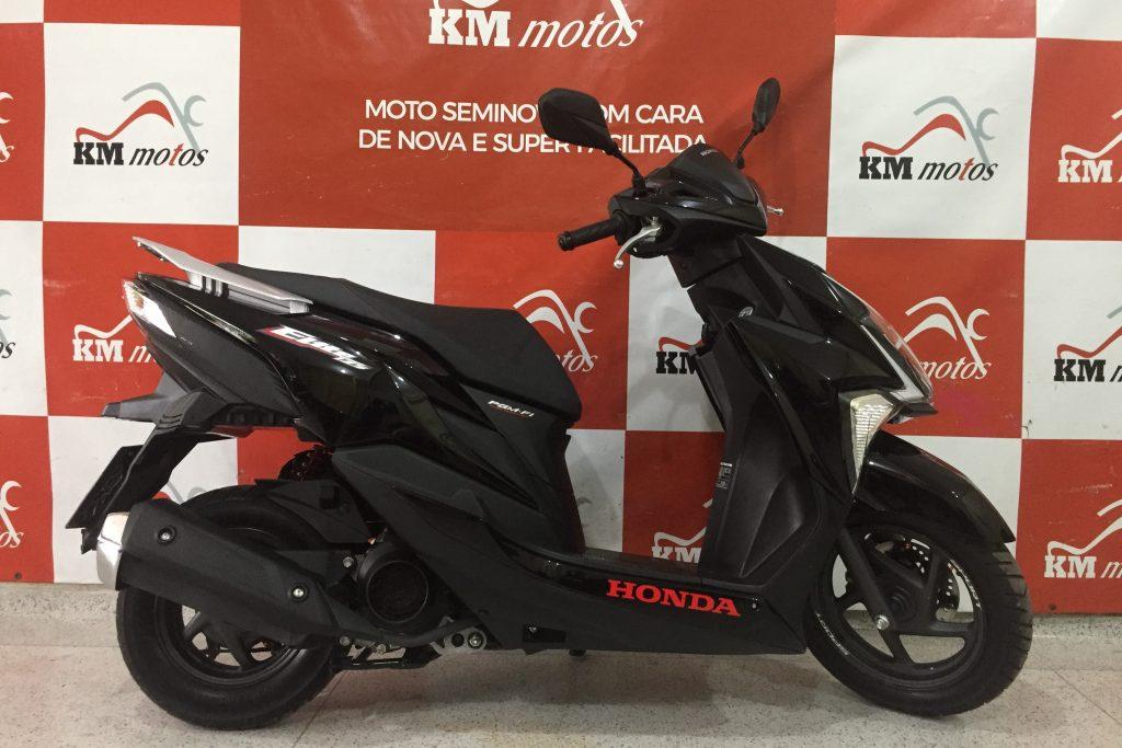 Honda Elite 125 Preta 2020