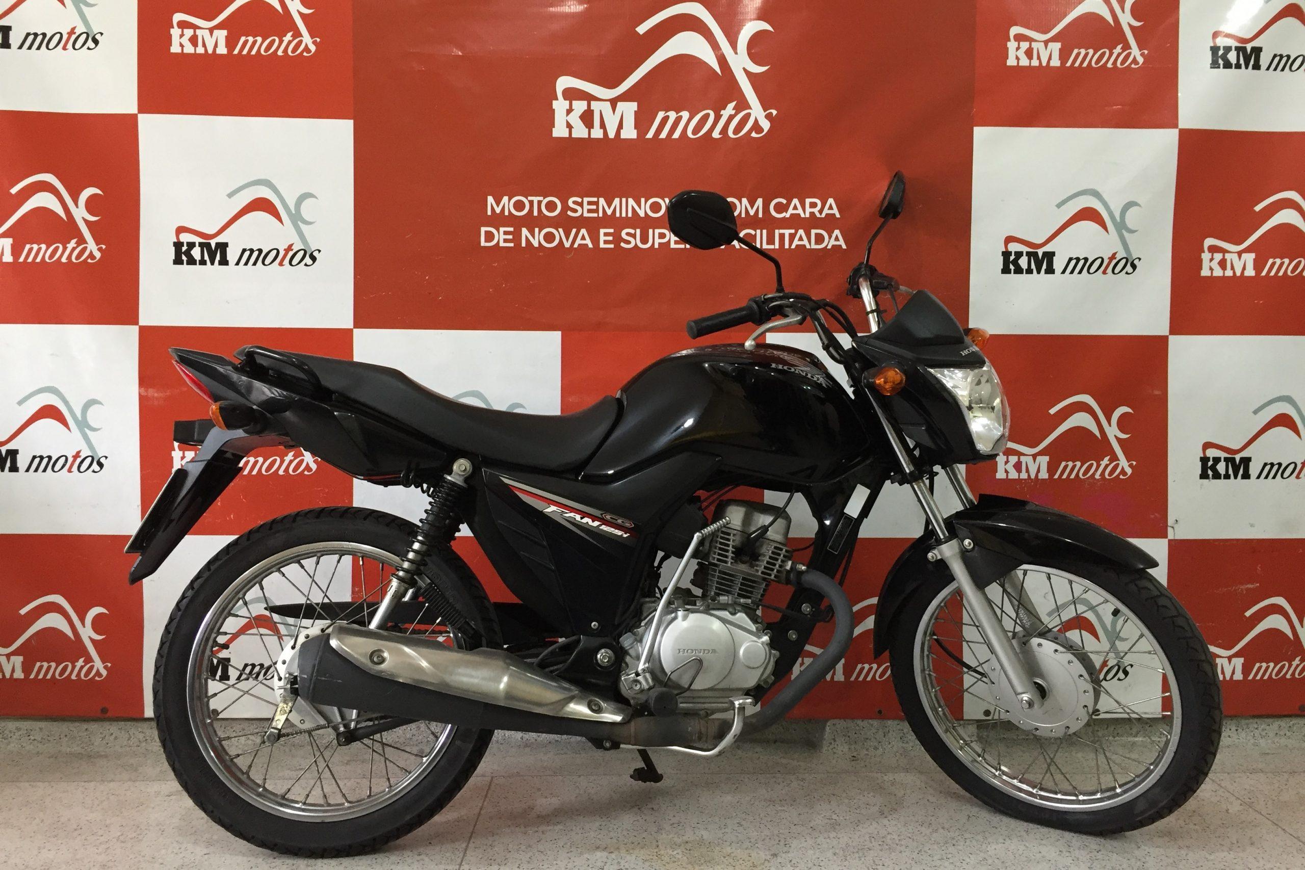 Honda CG 125 I Preta 2018