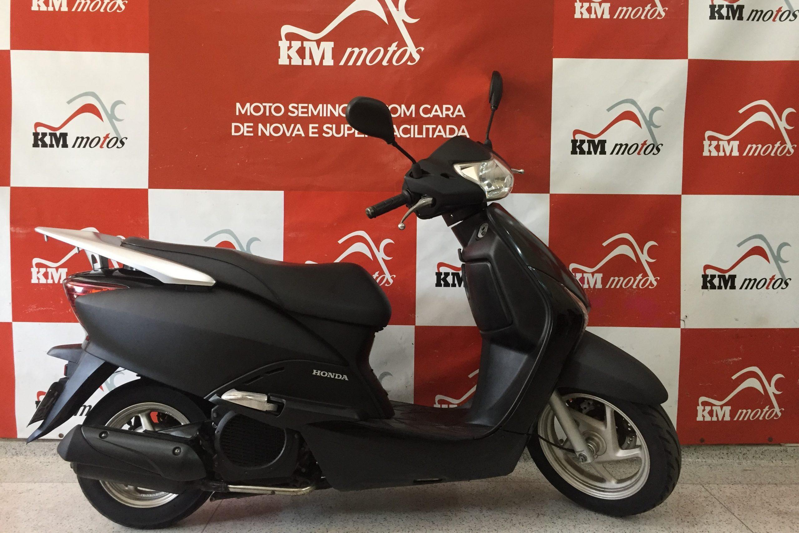 Honda Lead 110 Preta 2014
