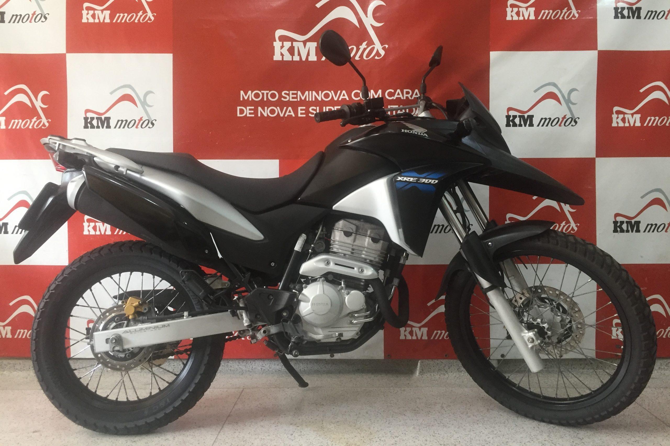 Honda XRE 300 Preta 2015 Flex