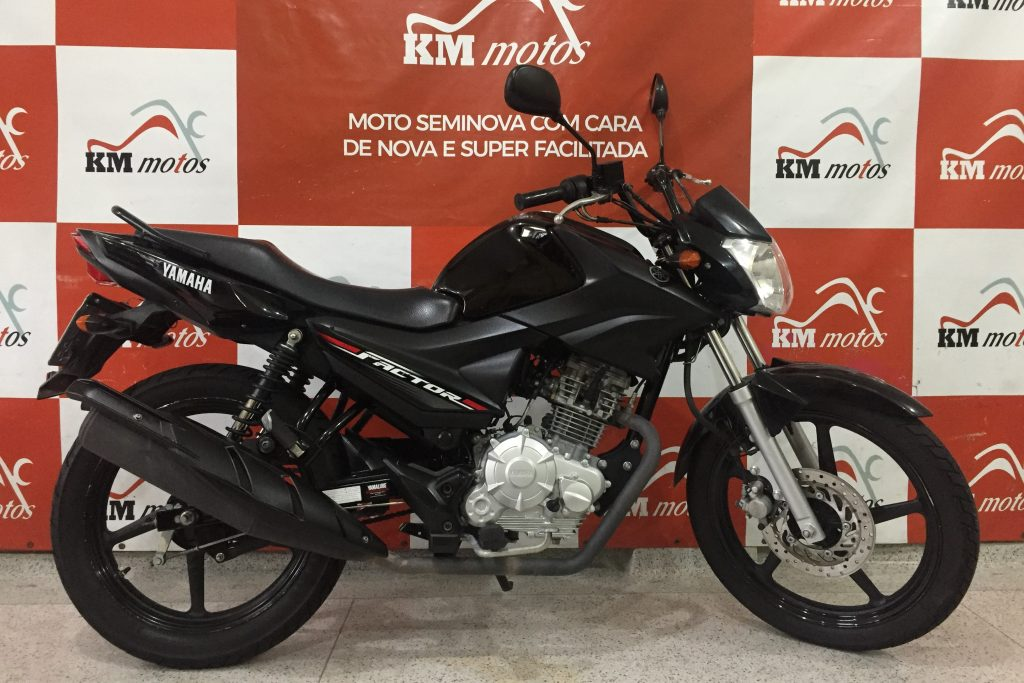 Yamaha ybr factor 125 i Preta 2018