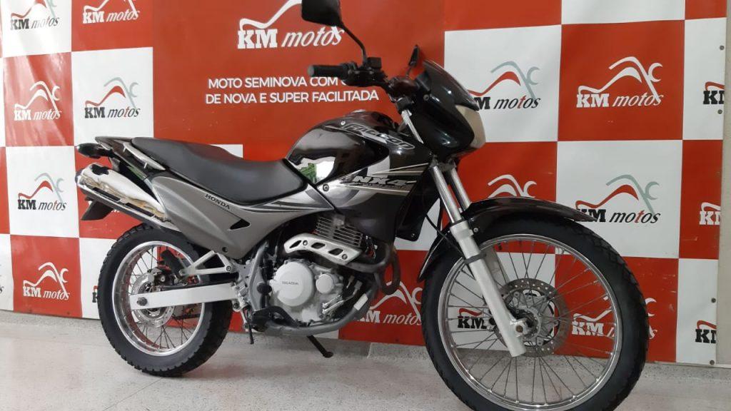 Honda NX -4 Falcon  2008  Preta