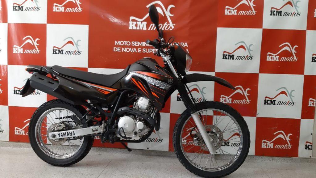 Yamaha Xtz 250 Lander 2012 Preta