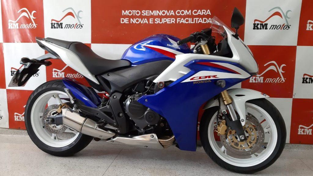 Honda Cbr 600F 2013 Azul