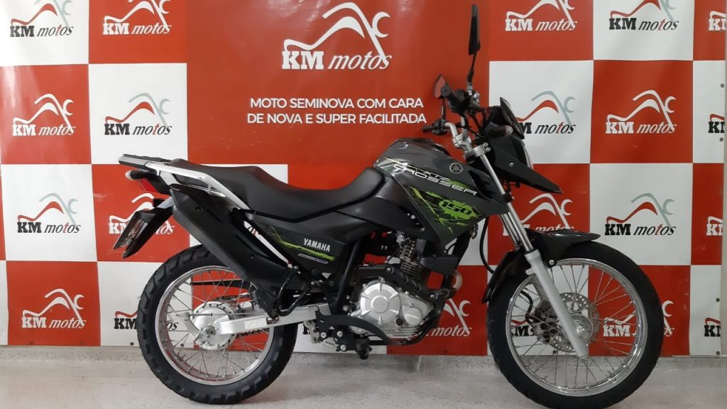 Yamaha Xtz 150 Crosser Ed  2016  Cinza