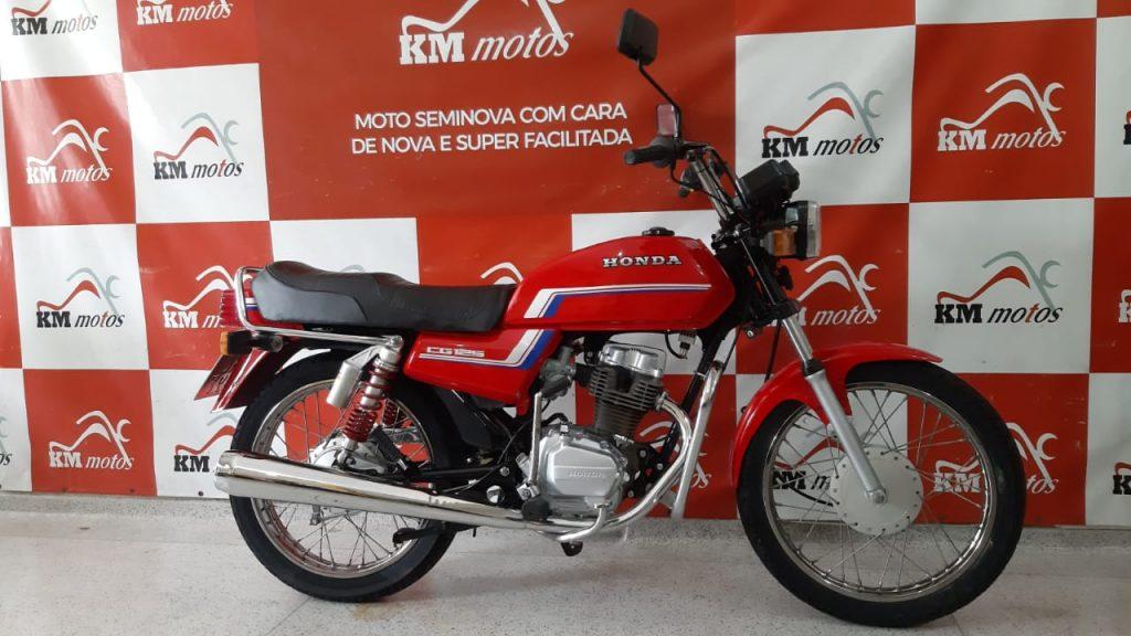 Honda CG 125 1983 Vermelha