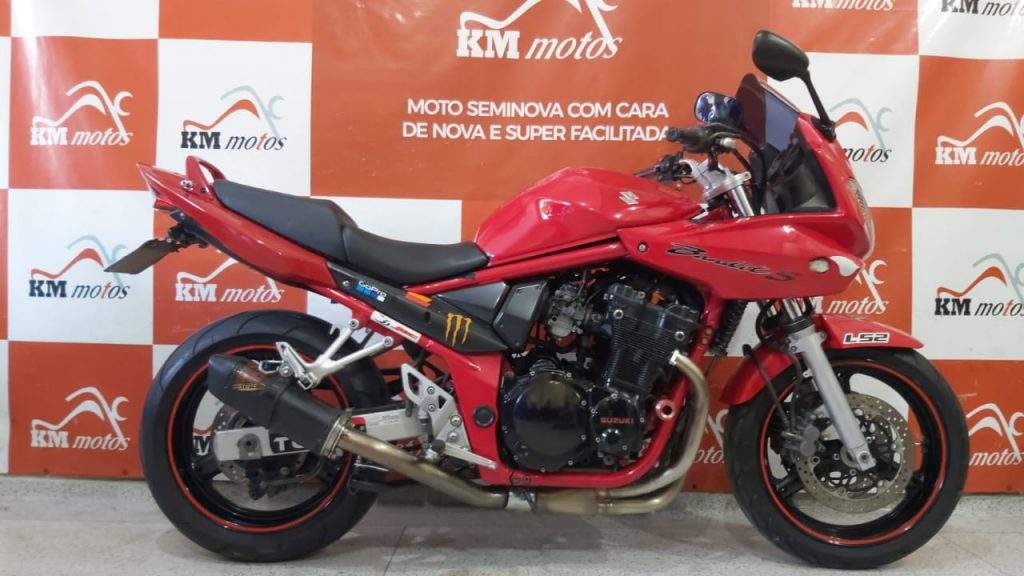 Suzuki Bandit 650S 2007 Vermelha