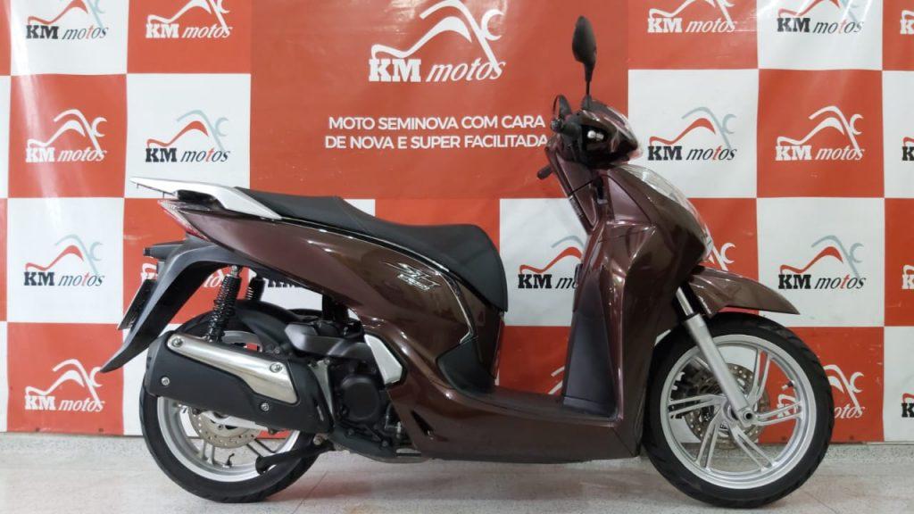Honda SH 300i 2018 Marrom