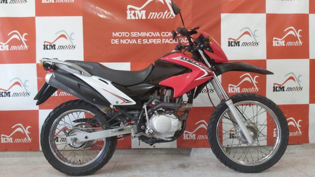 Honda NXR 125 Bros KS 2014 Vermelha