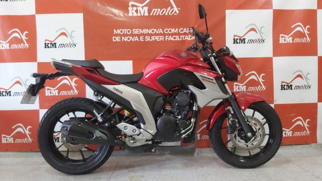 Yamaha FZ 25 Fazer 2020 Vermelha