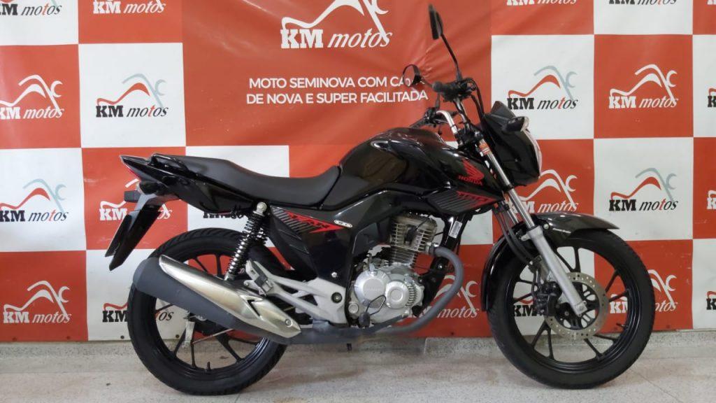 Honda CG 160 Fan 2020 Preta