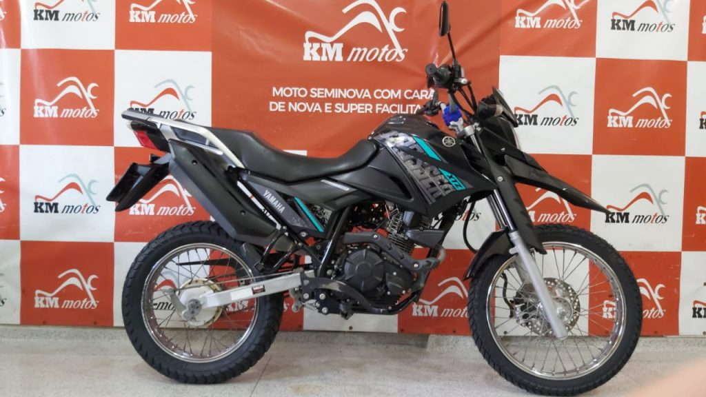 Yamaha XTZ 150 Crosser S 2018 Preta