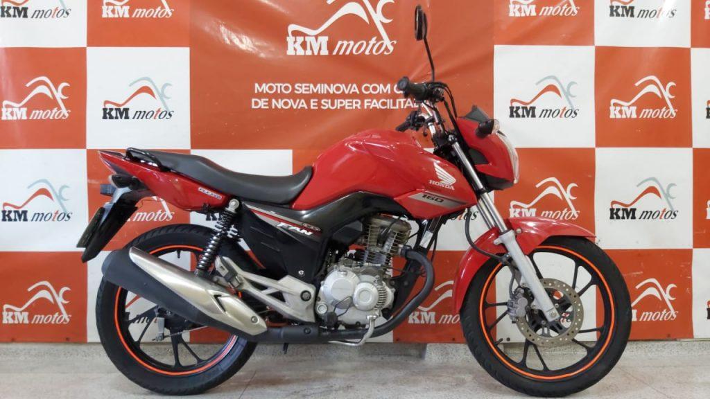 Honda CG 160 Fan ESDI 2016 Vermelha