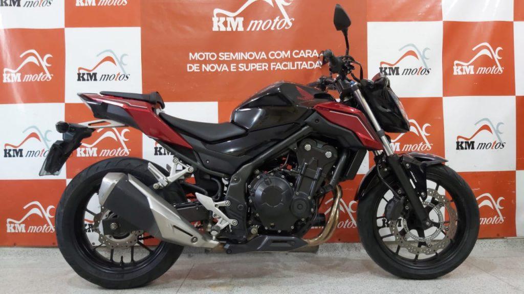 Honda CB 500F ABS 2019 Preta