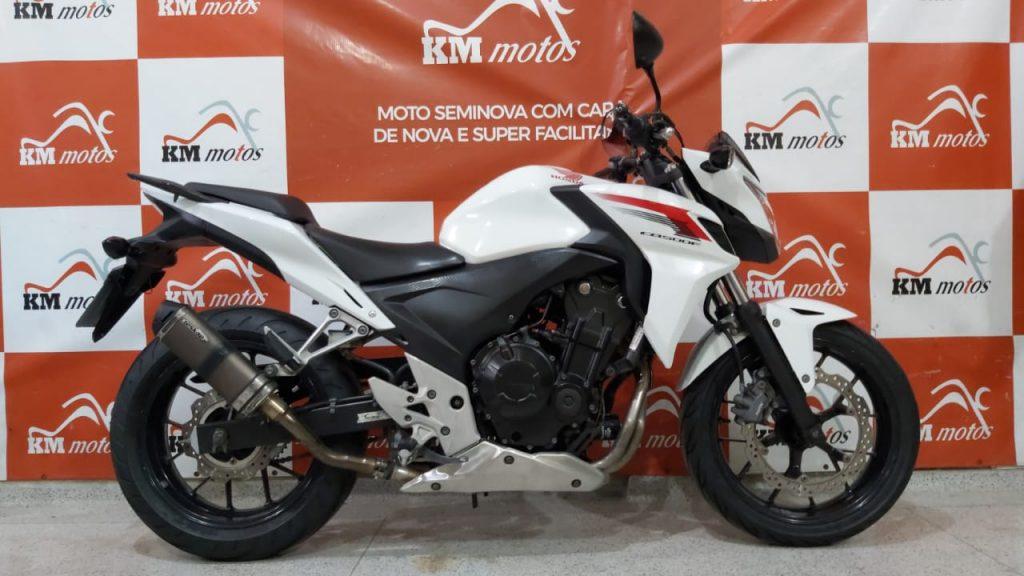 Honda CB 500F 2014 Branca