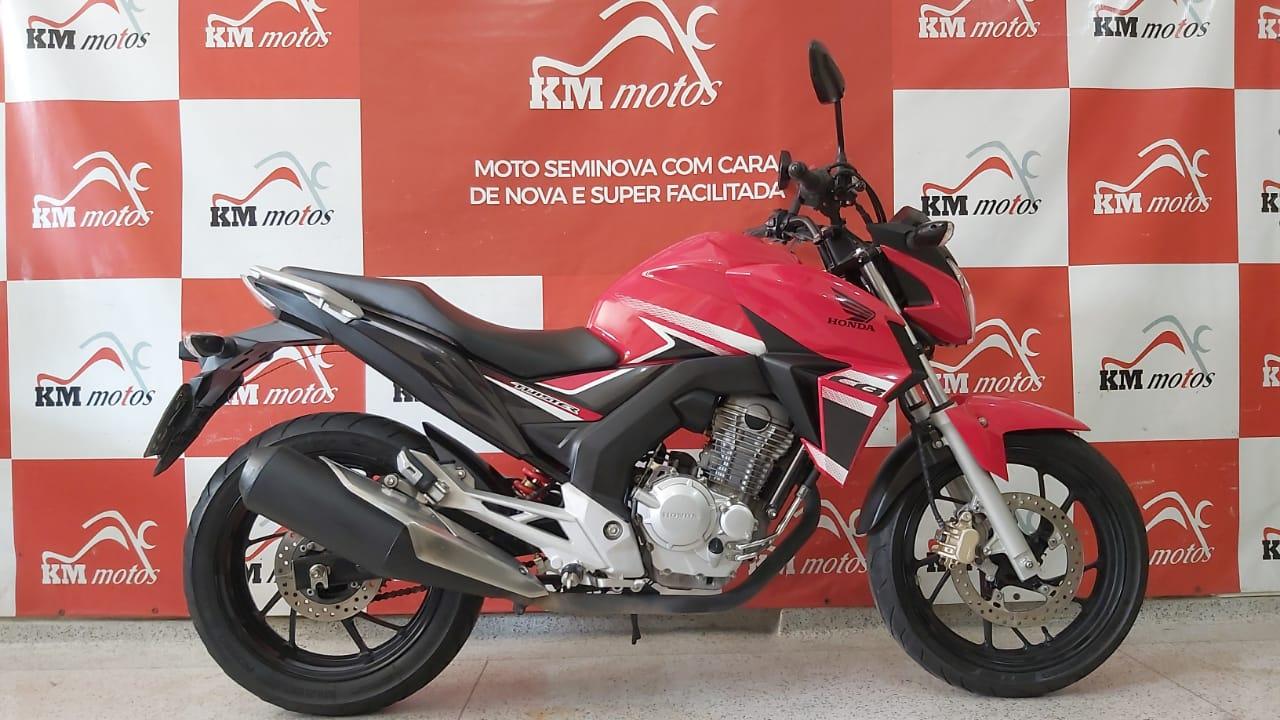 Honda CB 250F Twister 2018 Vermelha