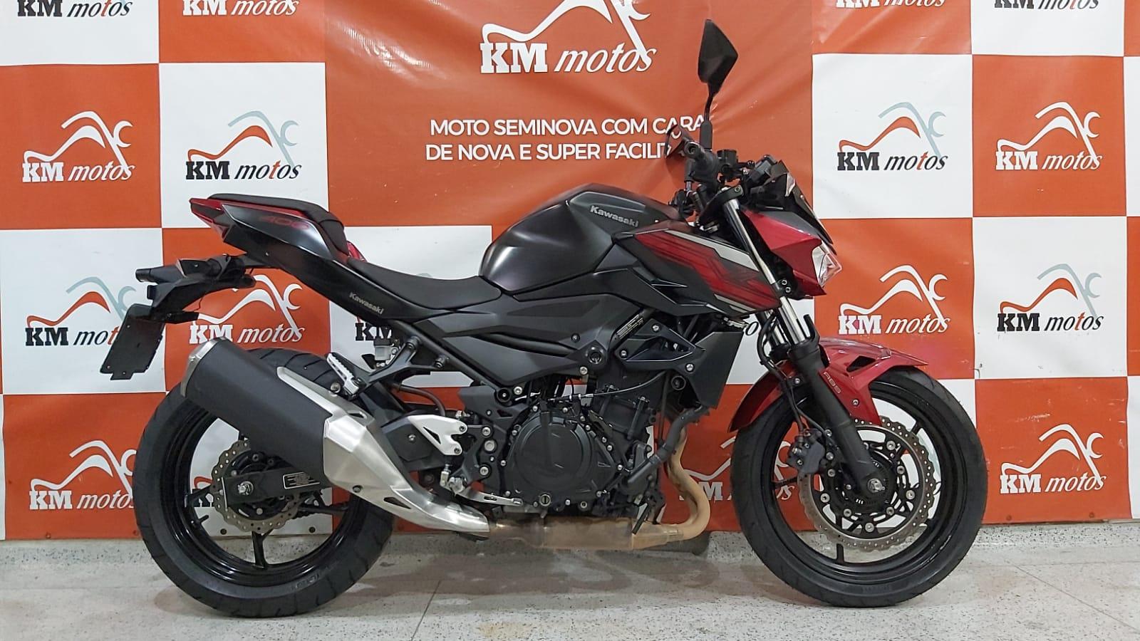 Kawasaki Z400 ABS 2020 Vermelha
