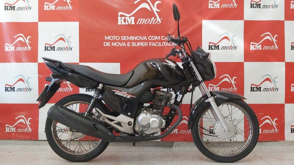 Honda CG 160 Start 2019 Preta