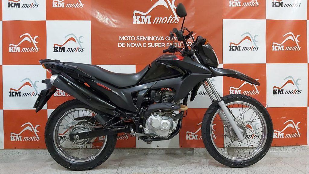 Honda NXR 160 Bros 2018 Preta