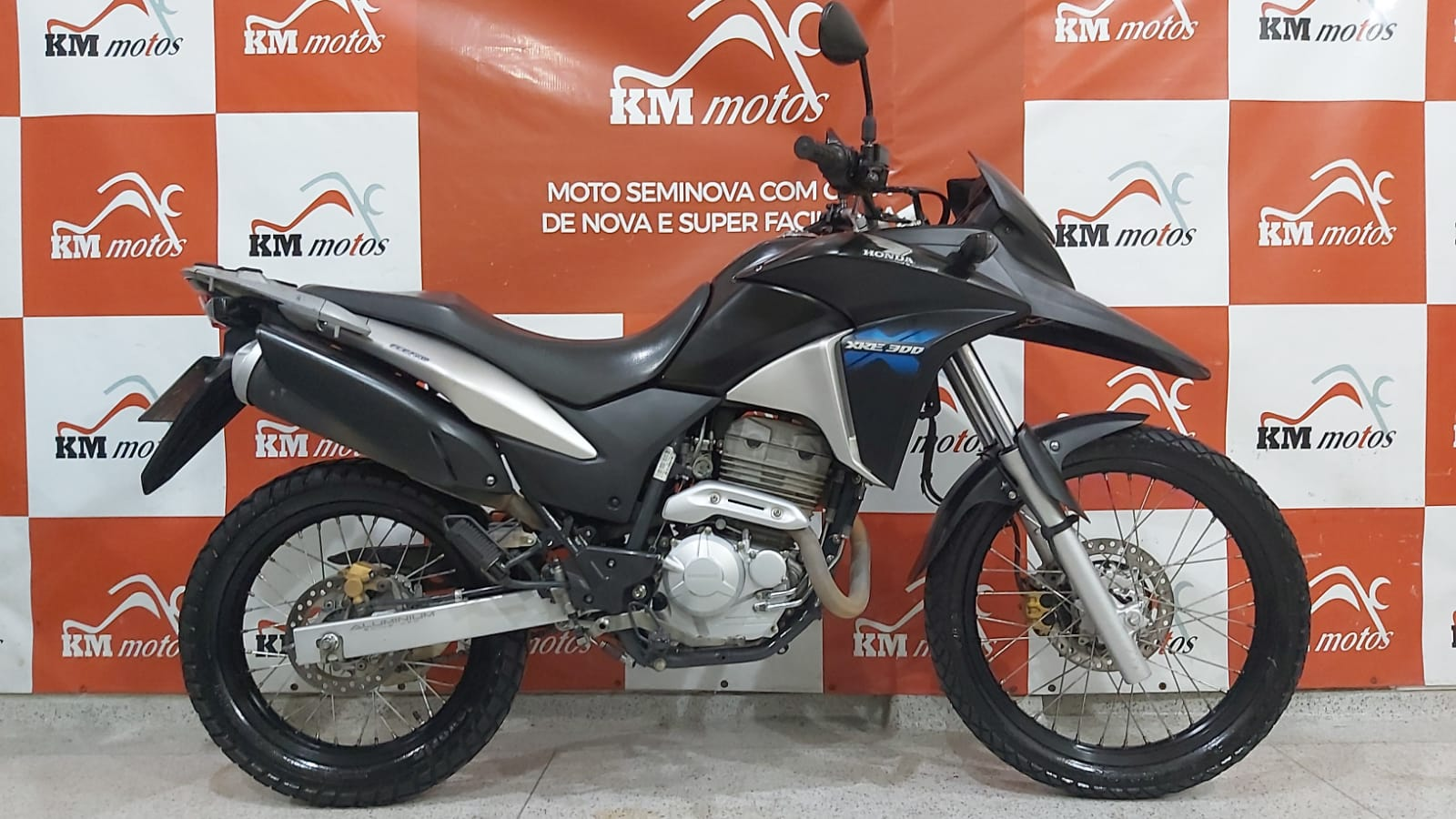 Honda XRE 300 FlexOne 2015 Preta
