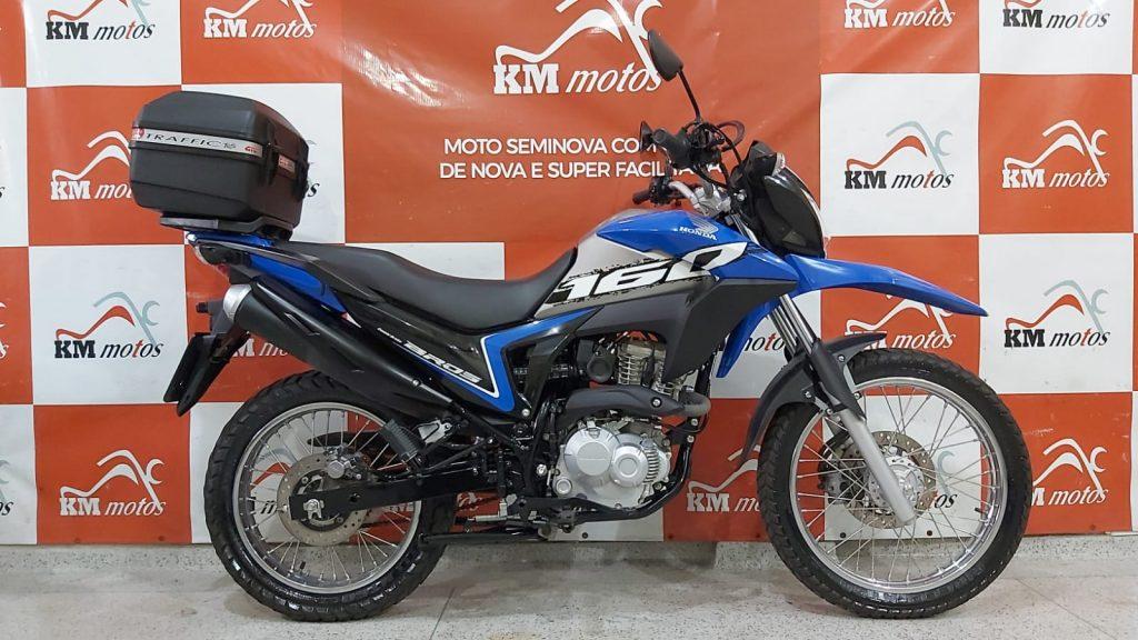 Honda NXR 160 Bros ESDD 2020 Azul