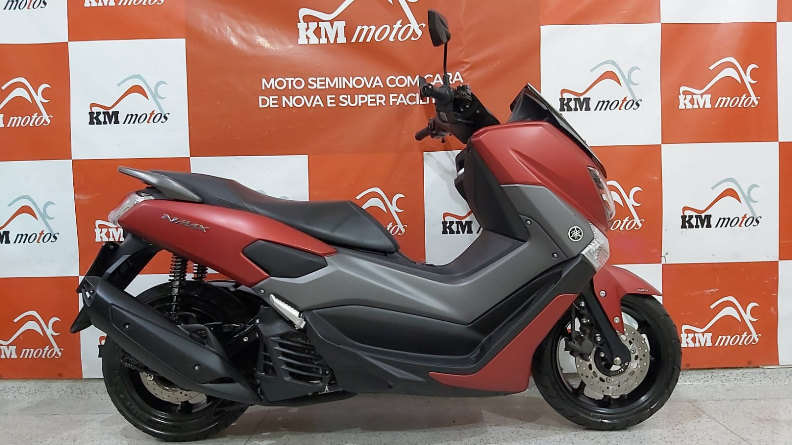 Yamaha Nmax 160 2019 Vermelha