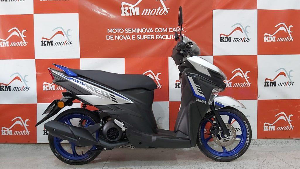 Yamaha Neo 125 2021 Prata
