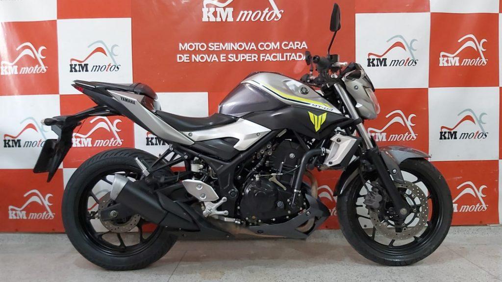 Yamaha MT-03 ABS 2018 Prata