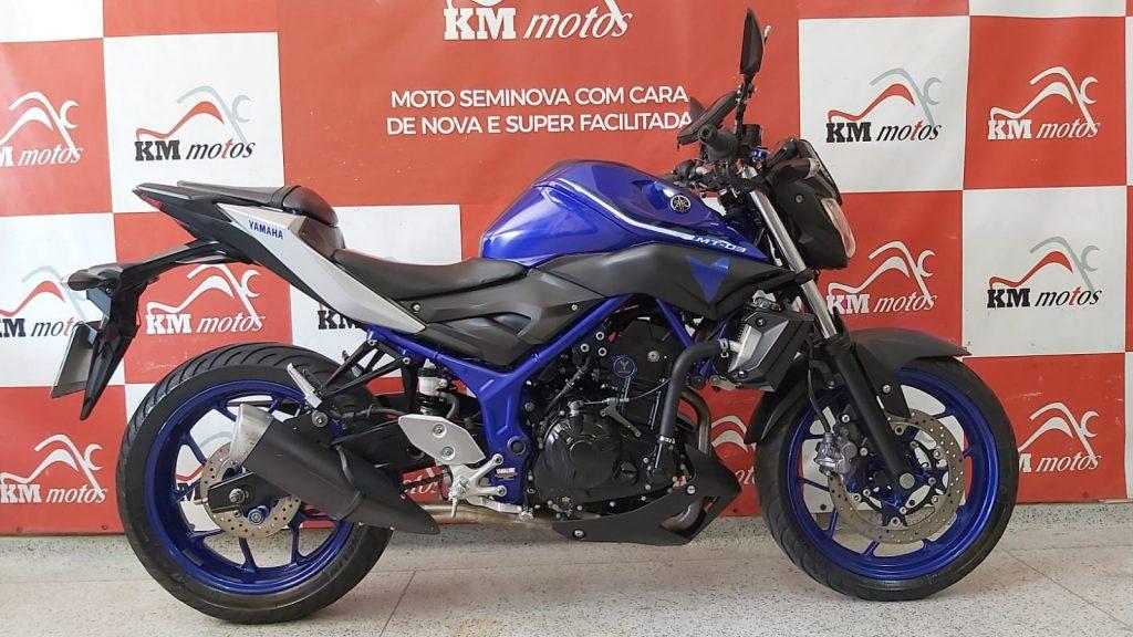 Yamaha MT03 2018 Azul