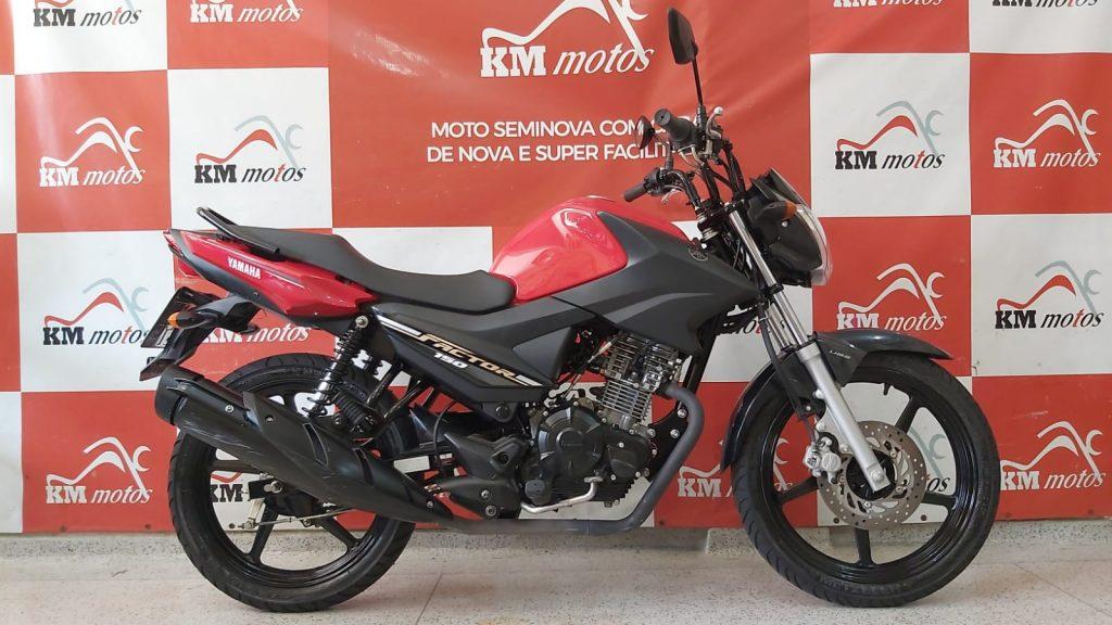 Yamaha Ybr 150 Factor Ed 2020 Vermelha