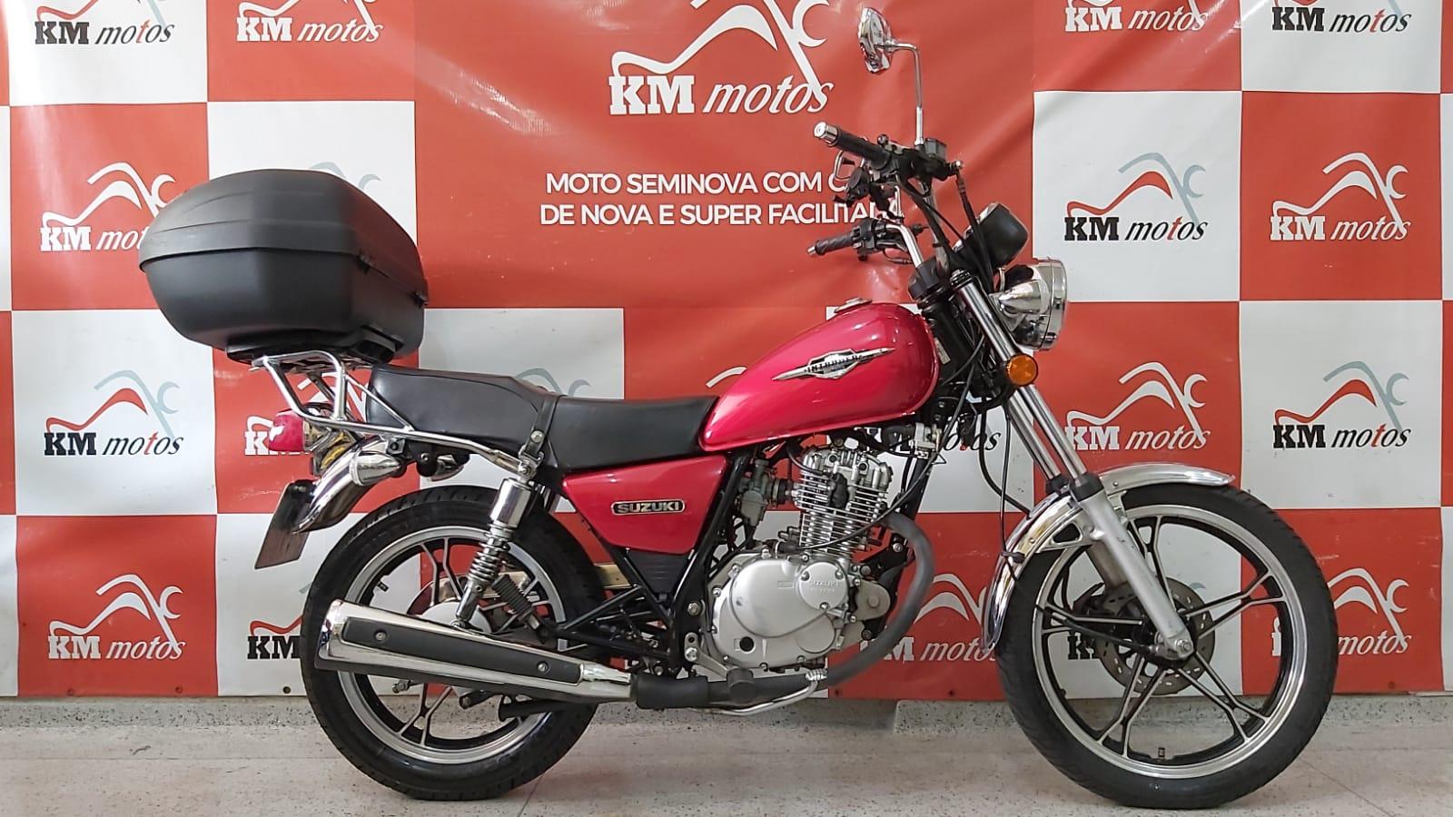 Suzuki Intruder 125 2016 Vermelha