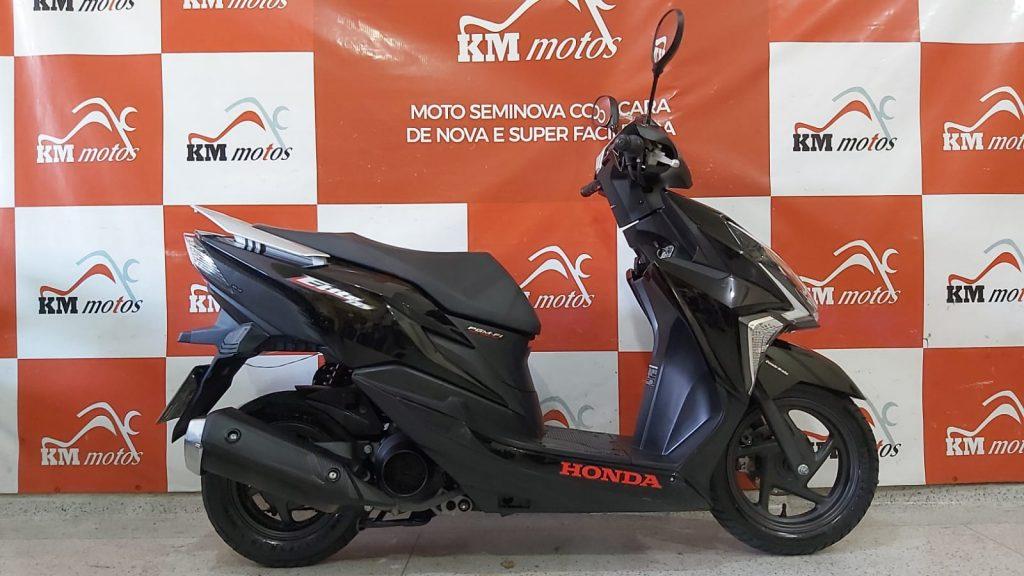 Honda Elite 125 2019 Preta