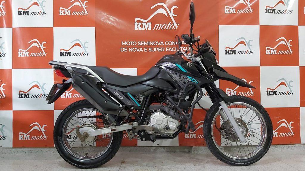 Yamaha XTZ 150 Crosser Z Flex 2018 Preta