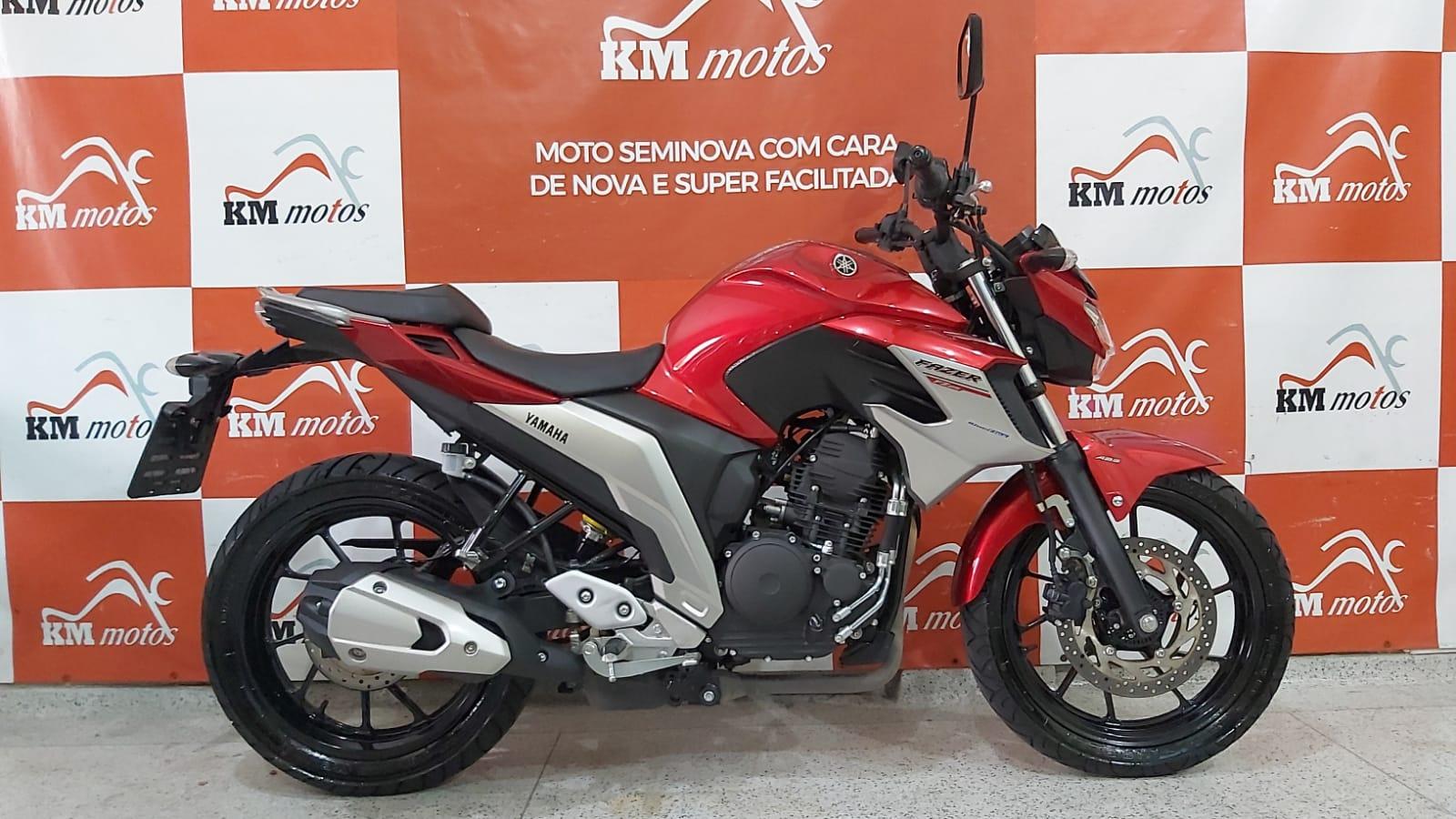Yamaha Fz25 Fazer 2021 Vermelha