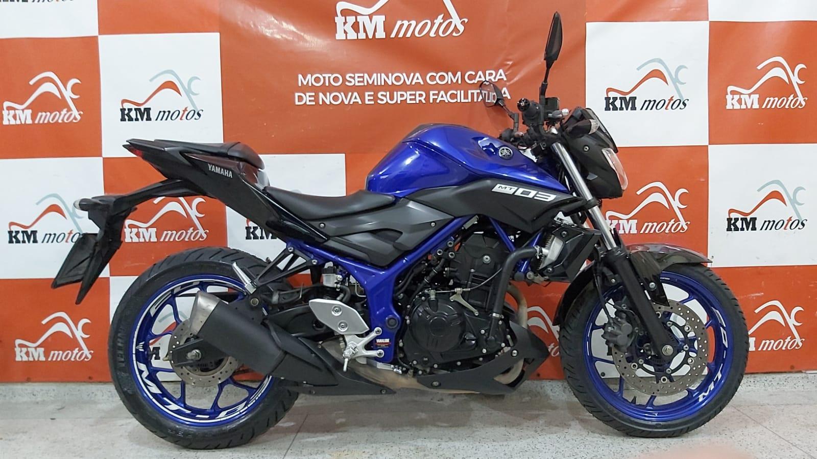 Yamaha Mt 03 Abs 2020 Azul